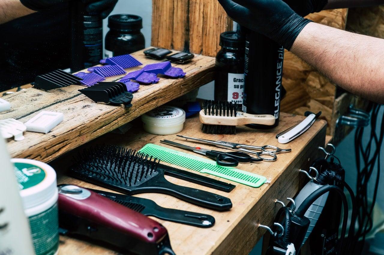 Barbering med godt udstyr